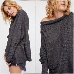 Free People Tops - FREE PEOPLE LONDONTOWN OFF SHOULDER PULLOVER TOP M